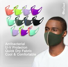 2 Pack Face Mask Quick Dry Tech Reusable Washable Protection Cover Breathable