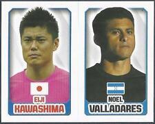 TOPPS ENGLAND 2014- #156-244-JAPAN-ELJI KAWASHIMA-HONDURAS-NOEL VALLADARES