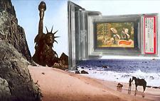1968 A&BC Planet of the Apes NO ESCAPE! #12 NEAR MINT 7 - Vintage garno PSA
