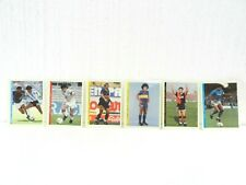 DIEGO ARMANDO MARADONA LOT 6 CARDS SOCCER FOOTBALL