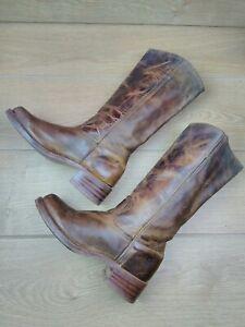 Women's Frye Long Leather Boots US 9.5 UK 7.5