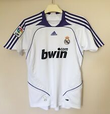 FC REAL MADRID 20072008 HOME FOOTBALL JERSEY CAMISETA SOCCER MAGLIA SHIRT BOYS