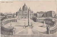 BF32526 roma piazza s pietro  italy  front/back image