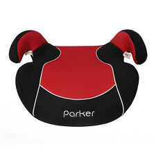 Parker Red Baby Child Kid Toddler Booster Seat Group 2/3 Age 5-12 Safety Cushion