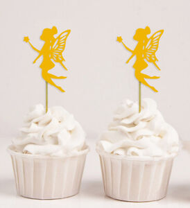 Darling Souvenir| Angel Cupcake Toppers| Its a Girl Baby Shower/-ur4