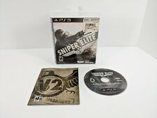Sniper Elite V2 Sony PlayStation 3 2012 PS3 - Complete TESTED