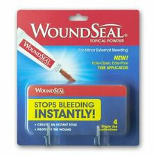 WoundSeal Powder 4 ea, Stops Bleeding Instantly
