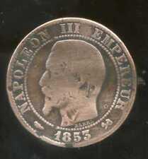 5 centimes NAPOLEON III 1853 B  ( 2 )