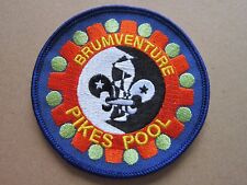 Brumventure Pikes Pool Cloth Patch Badge Boy Scouts Scouting L3K D