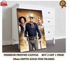 More details for john wayne the man who shot liberty large canvas art print gift a0 a1 a2 a3 a4