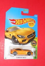 HOT WHEELS '15 MERCEDES-AMG GT HW EXOTICS NEW FOR 2017! SHIPS FREE