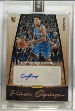 Cameron Payne 2015-16 Panini NBA Finals Promo Private Signings RC Auto #'d 5/5