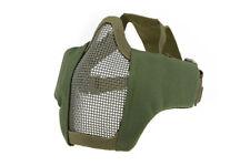 AIRSOFT MILSIM CQB Half Face Protective MESH Mask 2.0 - OLIVE M4