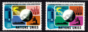 United Nations Geneva 1975 Peaceful Use Of Space-Complete Set-MUH