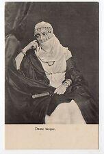 TURQUIE costumes Dame turque