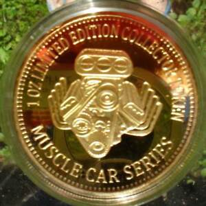 1 OZ LIMITED EDITION COLLECTOR TOKEN MUSCLE CAR SERIES COBRA