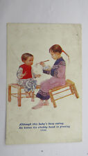 1910s Postcard China Chinese Baby Missionary Childrens Overseas Greetings Card