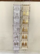 "Tung Lanna Wall Decoration (set Of 2 - Silver & Gold) 32"" Length Each Item"