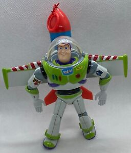 Disney Toy Story Buzz Lightyear Pull String The Big One Rocket Figure Thinkway