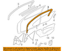 GM OEM Door-Run Channel Left 22623407
