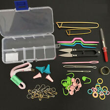 Weaving Knitting Tools Set Crochet Hook Accessories Supplies With Case Kit UK