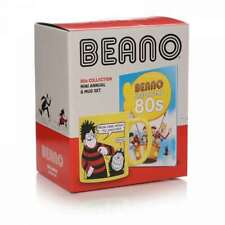 OFFICIAL BEANO COMICS BEST OF THE 80S MINI ANNUAL AND COFFEE MUG GIFT SET
