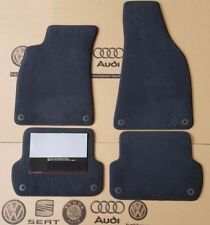 Audi A4 B6 B7 original premium floor mats front back velor fabric mats 4 piece