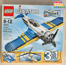*NEW* Lego Creator Aviation Adventures - Airplane Helicopter Sports Plane