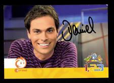 Daniel Fischer ZDF Autogrammkarte Original Signiert # BC 86908
