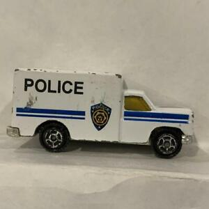White Police Utility Truck Unbranded AM