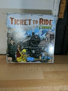 Ticket To Ride Europe Replacement Parts/Pieces/Cards - $3.50 flat shipping!
