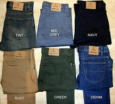 MENS EX M&S 8427 REGULAR FIT JEAN BLUE HARBOUR ADDED STRETCH WITH STORMWEAR