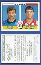 FIGURINA CALCIATORI PANINI 1994/95 - NUOVO/NEW N.544 STERCHELE/.. - VICENZA