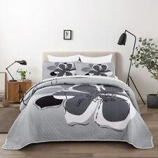 Grey Wolf Animal Blanket Warm Throw Rug 150x200cm Size Sofa Bedding Cover