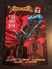 """Nightwing:Ties That Bind Incredible Condition 9.4(1997)""""Softcover"""" Book Thick !"""