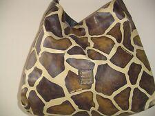 dooney& bourke shoulder bag giraffes print