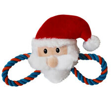 New listing Fa- Funny Plush Toys Christmas Santa Shape Chew Sound Play Toy for Pet Puppy Dog