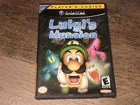 Luigi's Mansion Nintendo Gamecube Complete CIB Authentic