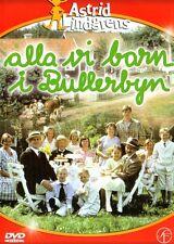 SCHWEDISCH:DVD Astrid Lindgren, Alla vi barn i Bullerbyn, Kinder aus Bullerbü