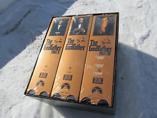 New never used The Godfather Collection The Complete VHS hi-fi Stereo 3 Tape Set