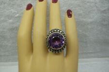 and Genuine Amethyst Ring, Circa 1900 New ListingAntique 18kt Genuine Rose Cut Diamonds