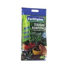 TERREAU SUBSTRAT REMPOTAGE PLANTES VERTES FLEURIES 6 LITRES FERTILIGENE