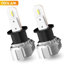 OXILAM H3 LED Fog Light Bulbs Conversion Kit 6500K White Canbus Error Free CN