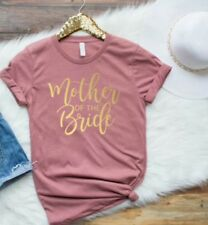 bride t shirt/ mother of the bride t shirt