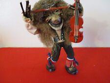 Rare Vintage Hand Made Norsk Monster Skautroll Troll Tribal Sculpture