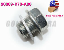 ENGINE OIL PAN DRAIN BOLT PLUG WITH WASHER FOR HONDA ACCORD CIVIC ACURA TLX RDX