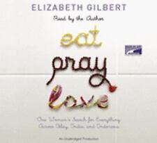 Elizabeth GILBERT-EAT PRAY LOVE-11 audio cd's-unabridged