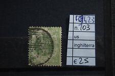 FRANCOBOLLI INGHILTERRA USATI N°103 (F9423)