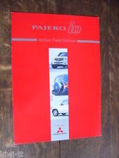 MITSUBISHI Pajero IO Active Field Edition prospetto/brochure Japanese, 1.2004