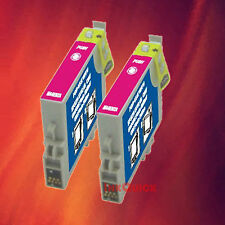 2 T044320 T0443 MAGENTA INK FOR EPSON C84WN C66 CX6600